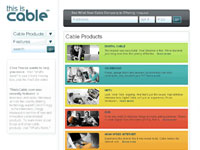 ThisIsCable product menu